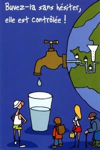 Affiche eau potable