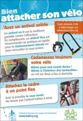 Conseils pour bien attacher son vélo