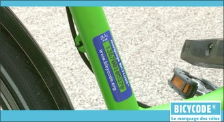 Image d'un vélo marqué