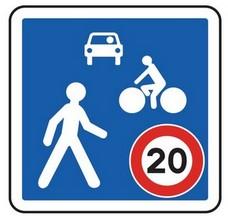 Image du panneau Zone de rencontre