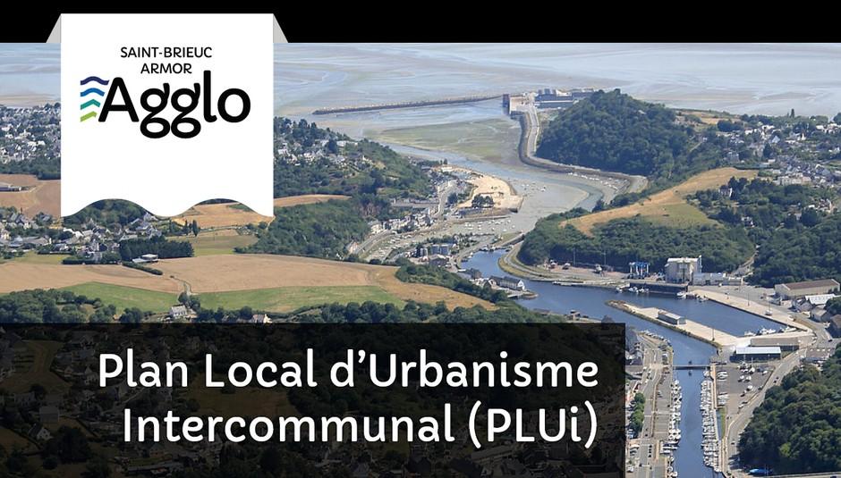 Image dela la page du PLUi sur le site de saint-Brieuc Armor Agglomération